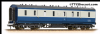 Bachmann 34-332 50ft Ex-LMS Parcels Van Blue & Grey